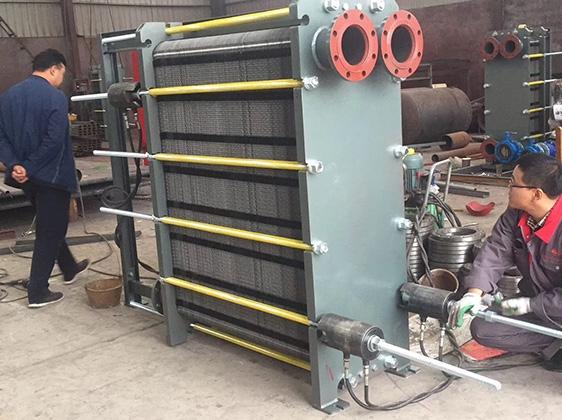 板式换热器加工