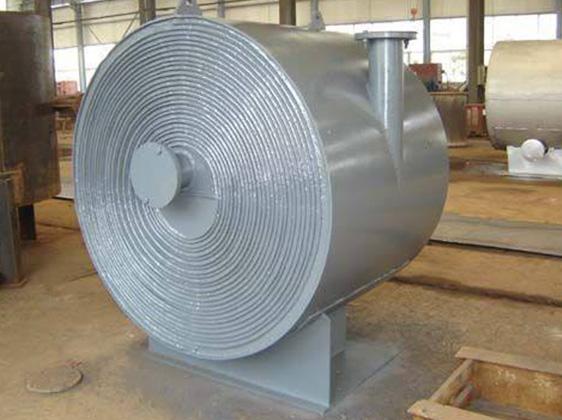 蒸汽螺旋板换热器