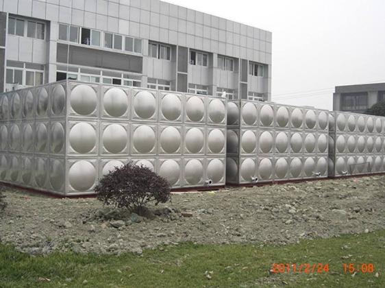 不锈钢球板水箱